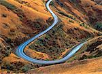 Route #129 et paysage, Washington, USA