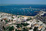 Provincetown et océan Atlantique Cape Cod, Massachusetts, USA
