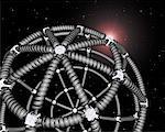 Telephone Cord Sphere