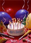 Geburtstagstorte mit Party Favors