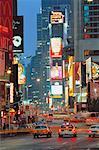 Times Square at Night Manhattan, New York, New York USA