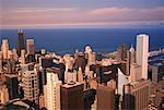 Paysage urbain de Chicago, Illinois, USA