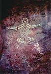 Australie grotte dessin Kakadu National Park