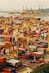 Tanjong Pagar Container Terminal Singapour