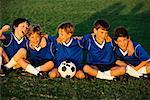 Portrait of Boy's Soccer Team