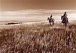 Équitation à Douglas Lake Ranch, Colombie-Britannique, Canada