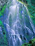 Close-Up of Proxy Falls Oregon, USA