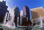 Fontaine et galerie d'Art de la Colombie-Britannique, Canada
