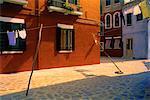 Island of Burano, Venetian Lagoon Italy