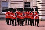 Gardes de Buckingham Palace, Londres, Angleterre
