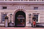 Le palais de Buckingham et garde Londres