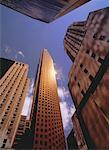 Scotia Plaza et tours de bureaux de Toronto, Ontario, Canada