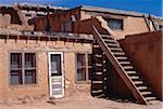 Pueblo Dwellings, New Mexico, USA
