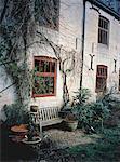 Garden at Side of House Dursley, Gloucester, England
