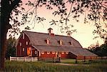 Barn at Sunset Illinois, USA