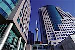 Metro Center and C.N. Tower Toronto, Ontario, Canada