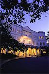 Raffles Hotel at Dusk Singapore