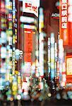Shinjuku District at Night Tokyo, Japan
