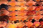 Ventilateurs sur affichage Kyoto, Japon