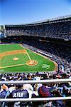 Match de baseball au Yankee Stadium de New York, New York, États-Unis