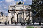 Arc du Triomphe du Carrousel, Paris, France
