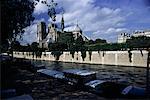 Cathédrale Notre-Dame et la Seine, Paris, France