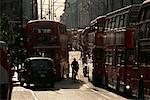 Verkehr auf der Oxford Street London, England