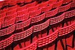 Leere Stadion Sitzplätze