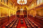 Intérieur de la chambre du Sénat Ottawa, Ontario, Canada