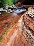 Oak Creek Canyon Slide Rock State Park Near Sedona, Arizona, USA