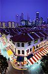 Lantern Festival in Chinatown At Dusk Singapore