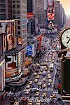 Traffic Times Square, New York, New York USA