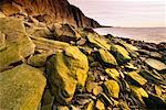 Sunrise at Cape Enrage Bay of Fundy, New Brunswick Canada