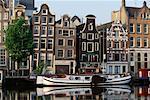 Amstel River Amsterdam, The Netherlands