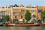 Amstel River Amsterdam, Holland