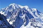 Aiguille du Midi Mont-blanc région Chamonix, France