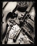 Violon et outils du Luthier