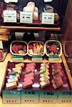Sushi in Narita Airport Tokyo, Japan