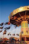 Swing Ride at CNE, Toronto, Ontario, Canada