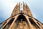 Gaudi's Sagrada Familia Church Barcelona, Catalunya, Spain