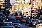 Street Scene in Chinatown Toronto, Ontario, Canada