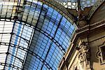 Interior Roof Detail Galleria Vittorio Emanuele Milan, Italy