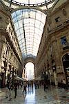 Galleria Vittorio Emanuele Milan, Italie