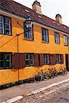 Gehäuse in Kopenhagen, Dänemark