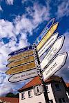 Road Signs Sprengel, Germany