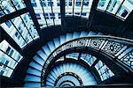 Staircase, Chicago, Illinois, USA