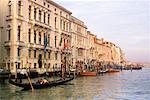 Gondola on Grand Canal Venice, Italy