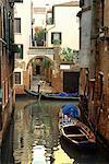 Gondolas on Canal Venice, Italy