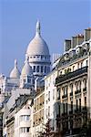 Vue sur le Sacré-Coeur Paris, France