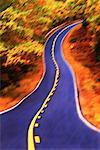 Abstrait Road